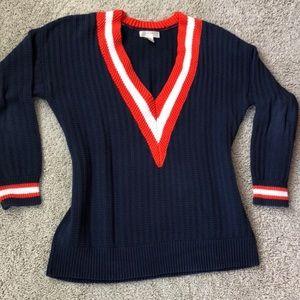 Oversized kenar sweater